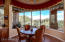 Eat-in Kitchen Dining Area With Magnificent Mountain Views. Fully Automatic Blinds.