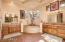 Massive Master Bathroom With Separate His/Her Vanities and Jetted Tub