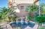 Sparkling Courtyard Fountain