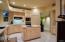 Kitchen with Island and veggie sink
