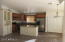 Open floor plan with the kitchen overlooking the breakfast nook and family room.