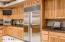 Large Stainless Steel Sub-zero refrigerator