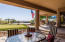 Take a break from the sun under the covered patio-surround sound thru-out the home & patio