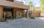 Beautiful Entrance to this home with 4 car garage and guest casita
