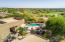 View of home/pool and #6 & #7 at Ancala