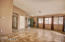Great Room showing hall and coat closet by front door,