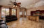 Family room and Open Kitchen