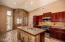 Remodeled Custom Kitchen cabinets, granite counter tops & stainless steel appliances.