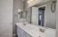 Double sinks in upstairs bathroom