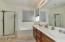 Garden tub plus shower in master bath