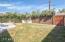 Back yard toward large gate