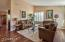 Large Space Opens To Family Room.