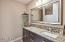 New Vanity, Granite Counters and Undermount Sink.