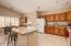 Roomy Kitchen with abundant storage.