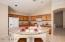 Kitchen with all appliances. Breakfast bar for casual meals at the Island.