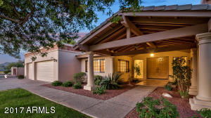 excellent curb appeal and entryway!