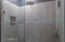 SECONDARY BATH WITH REMODELED FULL LENGTH RAIN SHOWER