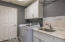 LAUNDRY ROOM, NEW HANG RODS, NEWER APPLIANCES