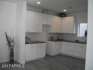 """42"""" white cabinets, quartz counter tops, stainless steel appliances beautiful finishes!"""