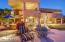 spacious patio with flagstone