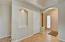 Brand New Interior wall texture, paint, flooring, doors, fixtures.