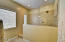 Completed re-designed master bath walk-in shower.