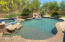 POOL w/SPA and water feature