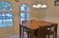 Arched windows add architectural interest.