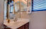 Private Sink with nicely finished fixtures