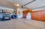 This Extended Garage is 2.5 with space for GOLF CART and workshop space!