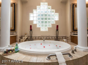 Close up of Jacuzzi Tub in Master Suite