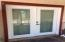 French Doors in Master open to Front Deck