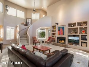 SWEEPING STAIRCASE ADDS CHARACTER AND CHARM