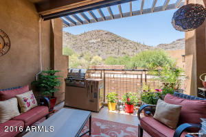 Large balcony with has hookup for grill , sunscreen and views!