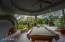 Guest Casita patio, fireplace and garden
