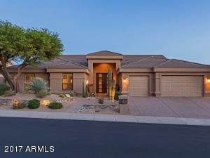 Welcome to this highly upgraded contemporary home in Sonoran Arroyos!