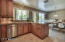 High-end wood cabinetry.