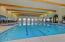 Heated indoor lap pool