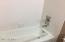 hall bath, tub/shower