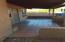 back patio w/tile