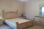 Roomy Master Bedroom: large enough for queen size bed, 2 night stands, and 2 full sized dressers