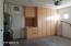 Garage W/Cabinets-AC Unit