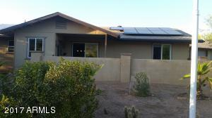Front of home... See the OWNED solar panels!!!
