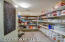 Heavenly pantry with so much additional storage throughout the house!