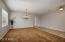 Separate Living and Dining Room- FRESH INTERIOR PAINT THROUGHOUT, INCLUDING ALL CEILINGS, DOORS, CLOSETS, BASEBOARDS, ETC!