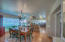 Gather with family/friends in the open and welcoming kitchen and eating area