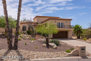 Nestled on quiet street in a prestigious area of Fountain Hills.