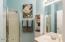 Full bathroom downstairs!