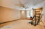 Bedroom #7/Fitness Room with walk in Closet - Downstairs)