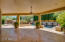 HUGE Extended Covered Patio with Wall of Glass to Great Room